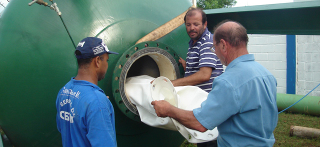 Membrane anti-bélier