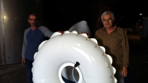 Vinifair company with Pronal inflatable compensators (inflatable baloons) in the wine cellar